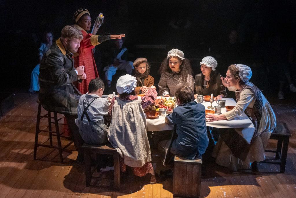 PPH A Christmas Carol 2019-Photo Brud Giles-EnsembleCratchitTable