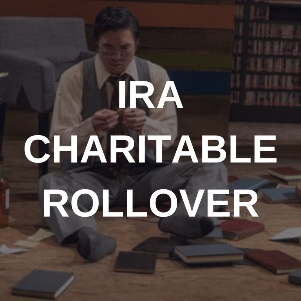 Click here to start an IRA Charitable Rollover